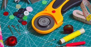 Herramientas y materiales de costura