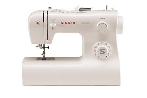 Singer 2282 Tradition - Máquina de coser mecánica, 32 puntadas, Blanco