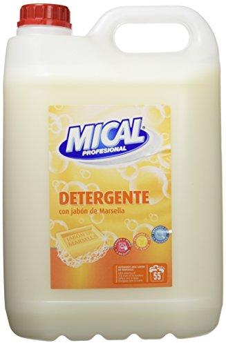 Mical Profesional Detergente Con Jabón De Marsella, Para Lavar A Mano - 5000 ml