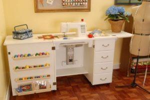 herramientas de costura - armario organizador