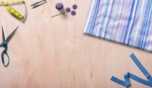 herramientas de costura - mesa