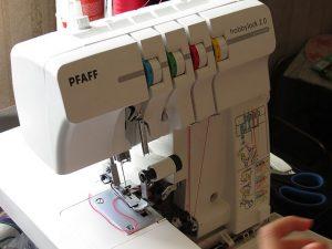 herramientas de costura - remalladora