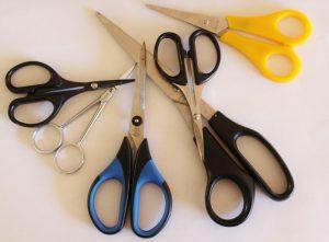 herramientas de costura - tijeras